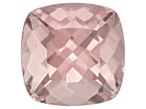 Morganite 13mm Square Cushion 8.75ct