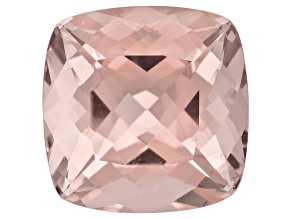Morganite 16mm Square Cushion 15.50ct