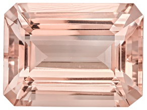 Morganite 20x15mm Emerald Cut 18.75ct