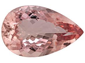 Morganite 32x20mm Pear Shape 40.37ct