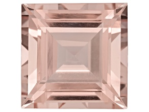 Morganite 15mm Square Step Cut 16.20ct
