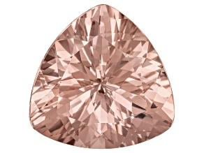 Morganite 17.5mm Trillion 14.25ct