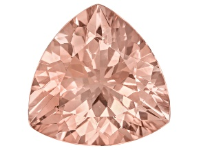 Morganite 18mm Trillion 13.75ct