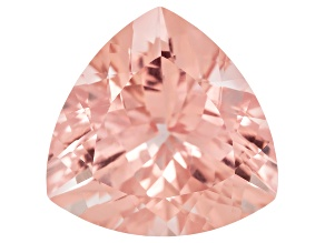Morganite 17mm Trillion 15.00ct