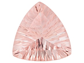 Morganite 20mm Trillion Quantum Cut 15.73ct