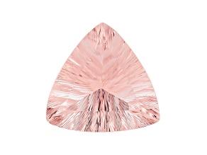 Morganite 20mm Trillion Quantum Cut 19.64ct