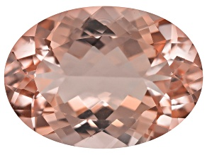 Peach Morganite 18x13mm Oval 12.00ct