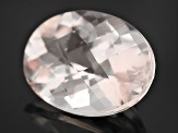 Morganite 15x11mm Oval Checkerboard Cut 7.00ct