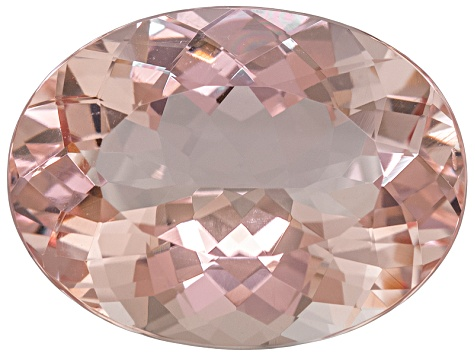 Morganite 19.5x15mm Oval 15.37ct