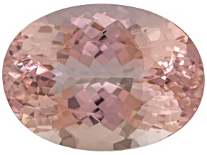 Morganite 25x18mm Oval 33.30ct