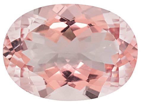 Morganite 15x11mm Oval 6.52ct