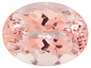 Morganite 19.5x15mm Oval Brilliant Cut 19.05ct