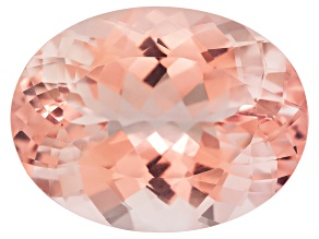 Morganite 22.5x17mm Oval Brilliant Cut 23.88ct