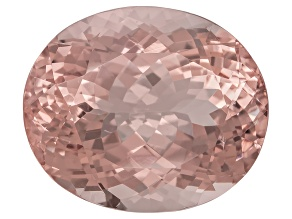 Morganite 18x13mm Oval 16.25ct