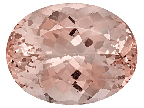 Morganite 21.3x16.5mm Oval 23.74ct