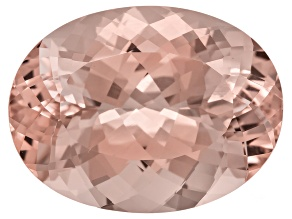 Morganite 25x19mm Oval 36.38ct