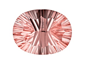 Morganite 21.5x16.5mm Oval Quantum Cut 21.87ct