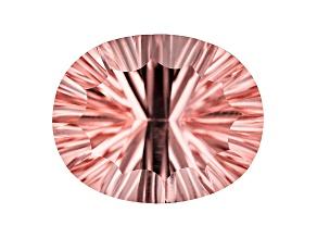 Morganite 21x17mm Oval Quantum Cut 21.26ct