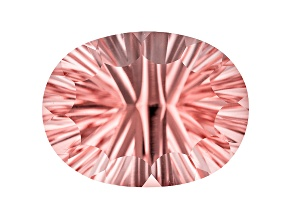 Morganite 23x17.5mm Oval Quantum Cut 25.85ct