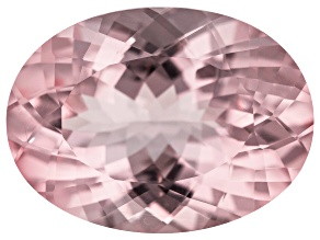 Morganite 27x20mm Oval 39.60ct