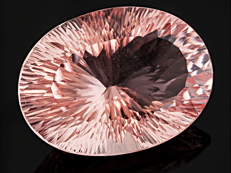 Morganite 29.94x21.99mm Oval Quantum Cut 50.14ct