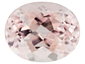 Morganite 10x8mm Oval 2.75ct