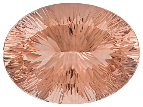 Morganite 30.04x22.32mm Oval Quantum Cut 50.18ct