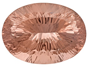 Morganite 30.11x22.08mm Oval Quantum Cut 65.34ct