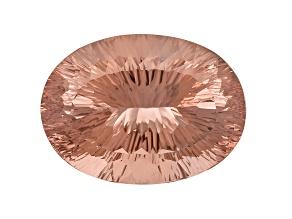 Morganite 30.11x22.08mm Oval Quantum Cut 65.34ct