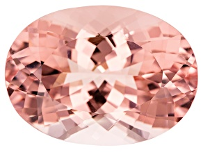 Morganite 30.25x22.04mm Oval Brilliant Cut 58.15ct