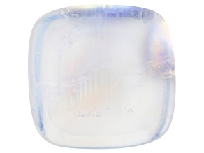 Rainbow Moonstone 13.95x13.54mm Rectangular Cushion Cabochon 14.30ct