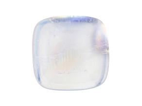 Rainbow Moonstone 13.95x13.54mm Rectangular Cushion Cabochon 14.30ct