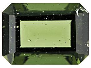 5.96ct Moldavite 14x10mm Rect Oct