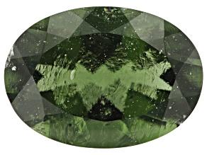 4.90ct Moldavite 14x10mm Oval
