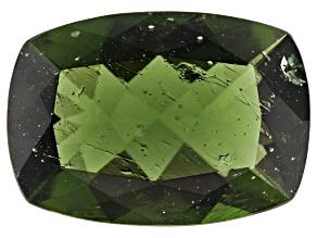 3.11ct Moldavite 13.5x9.5mm Rec Cush