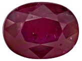 Ruby 8x6mm Oval 1.25ct
