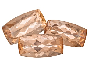 Imperial Topaz Rectangular Cushion Set of 3 4.44ctw