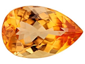 Imperial Topaz 15.8x10.2mm Pear 7.61ct
