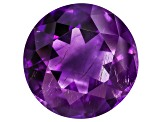 Amethyst With Needles 14.5mm Round 10.00ct