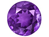Amethyst With Needles 13mm Round 6.50ct