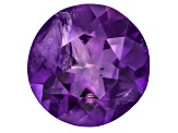Amethyst With Needles 9mm Round 2.00ct