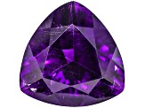 Amethyst With Needles 16mm Trillion 11.75ct