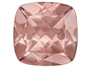 Pink Zircon 9mm Square Cushion 5.00ct
