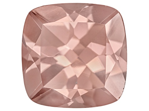 Pink Zircon 10mm Square Cushion 6.50ct