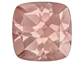 Pink Zircon 10mm Square Cushion 6.50ct