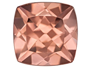 Pink Zircon 7mm Square Cushion 2.75ct