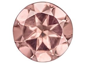 Pink Zircon 8mm Round 2.75ct