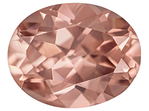 Pink Zircon 10x8mm Oval 3.50ct