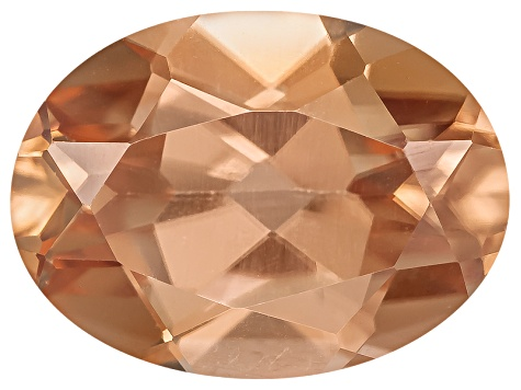 Pink Zircon 8x6mm Oval 1.65ct