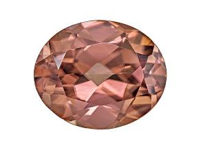 Pink Zircon 11x9mm Oval 5.00ct